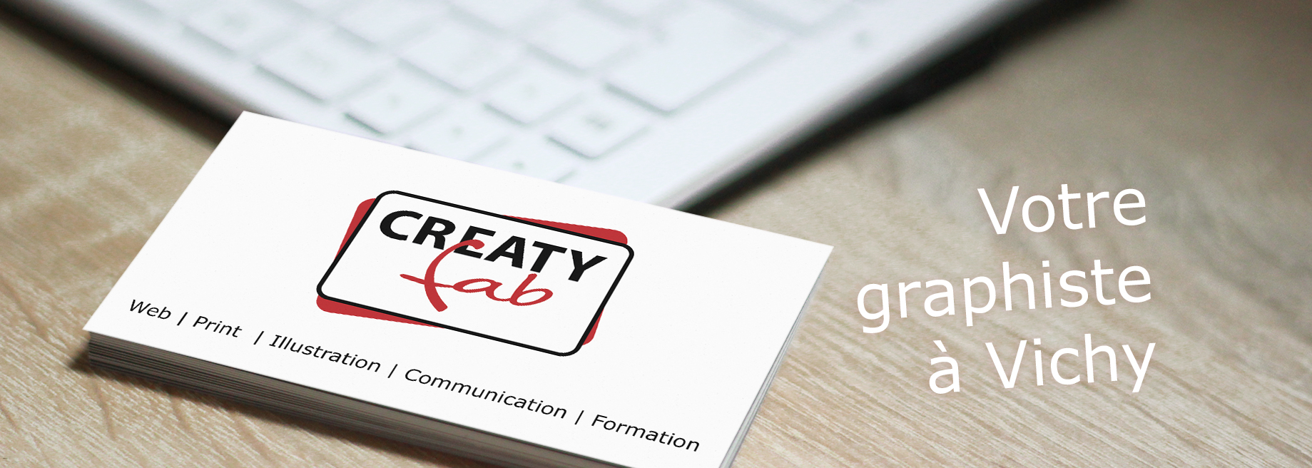 CREATYfab Graphiste à Vichy : web, print, communication, illustration, formation
